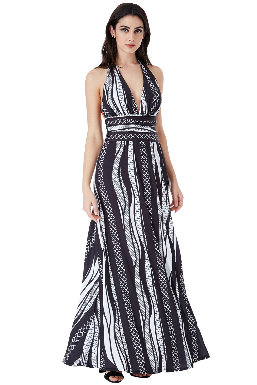 Rochie Imprimeu Abstract